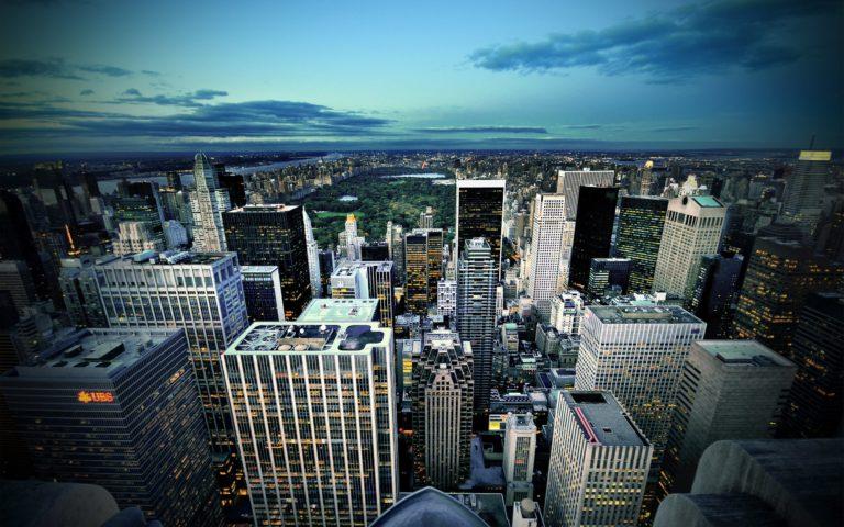 Manhattan New York USA Wallpaper 2560x1600 768x480