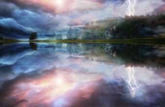 Manipulations Cg Digital Art Landscapes Wallpaper 1920x1200 340x220