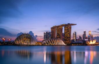 Marina Bay Sands 4K Wallpaper 3840x2160 340x220