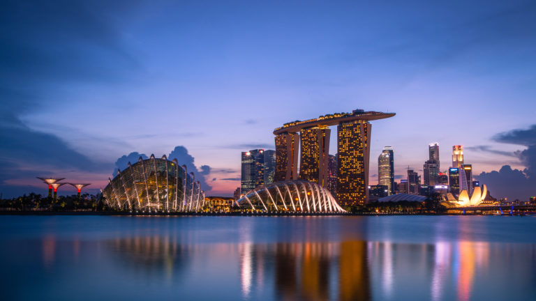 Marina Bay Sands 4K Wallpaper 3840x2160 768x432