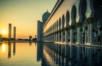 Masjid Sheikh Zayed Uae Wallpaper 3840x2160 340x220