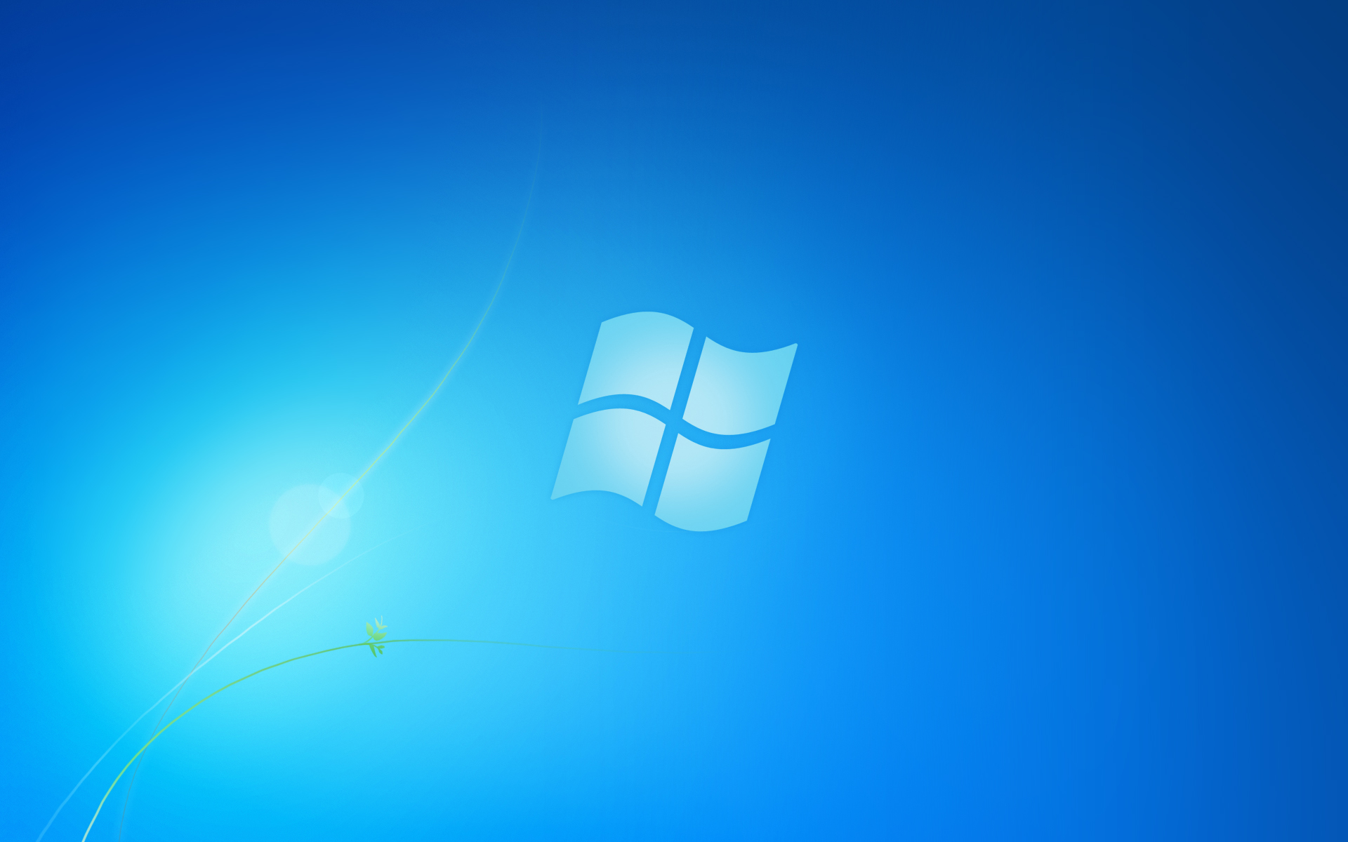 Xiaomi Redmi Note 5 Pro Wallpaper With Abstract Blue Light: Microsoft Windows Light Blue Wallpaper (1920x1200