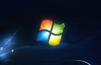 Microsoft Windows Logo Old Style Wallpaper 1920x1080 340x220