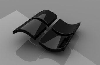 Microsoft Windows Logos Glossy Texture Wallpaper 1600x1200 340x220