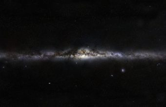 Milky Way Stars Space Wallpaper 1920x1180 340x220