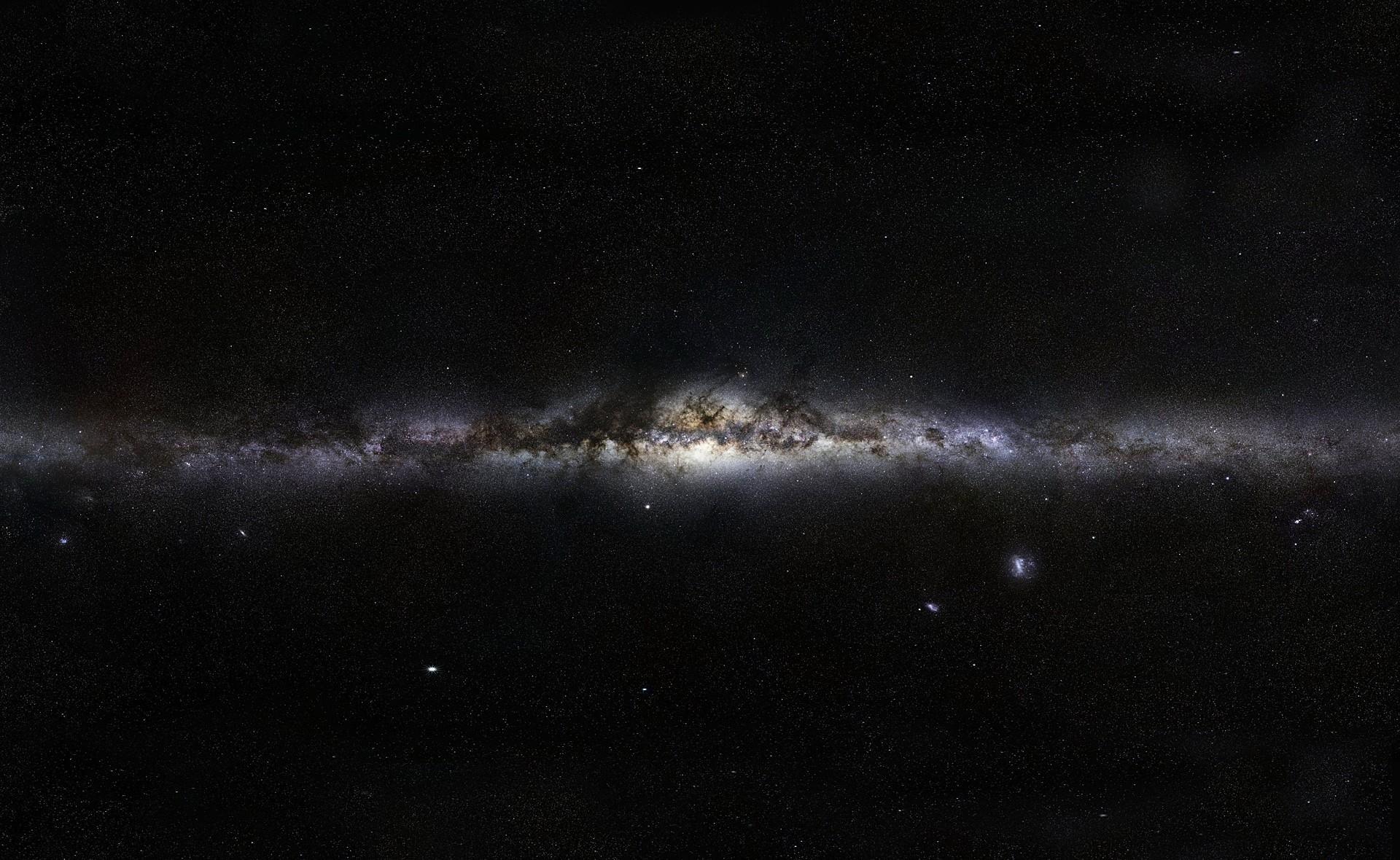 Milky Way Stars Space Wallpaper 1920x1180 340x220
