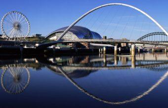 Millennium Bridge Widescreen England Wallpaper 2560x1600 340x220