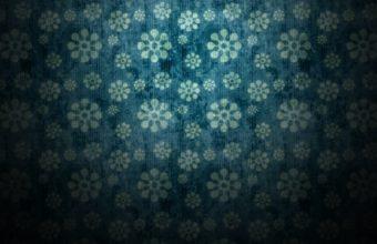 Minimalistic Pattern Flowers Patterns Wallpaper 1920x1200 340x220