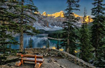 Moraine Lake Valley Of Ten Peaks Wallpaper 2048x1366 340x220