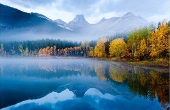 Mountain Lake Autumn Forest Wallpaper 1922x1282 340x220