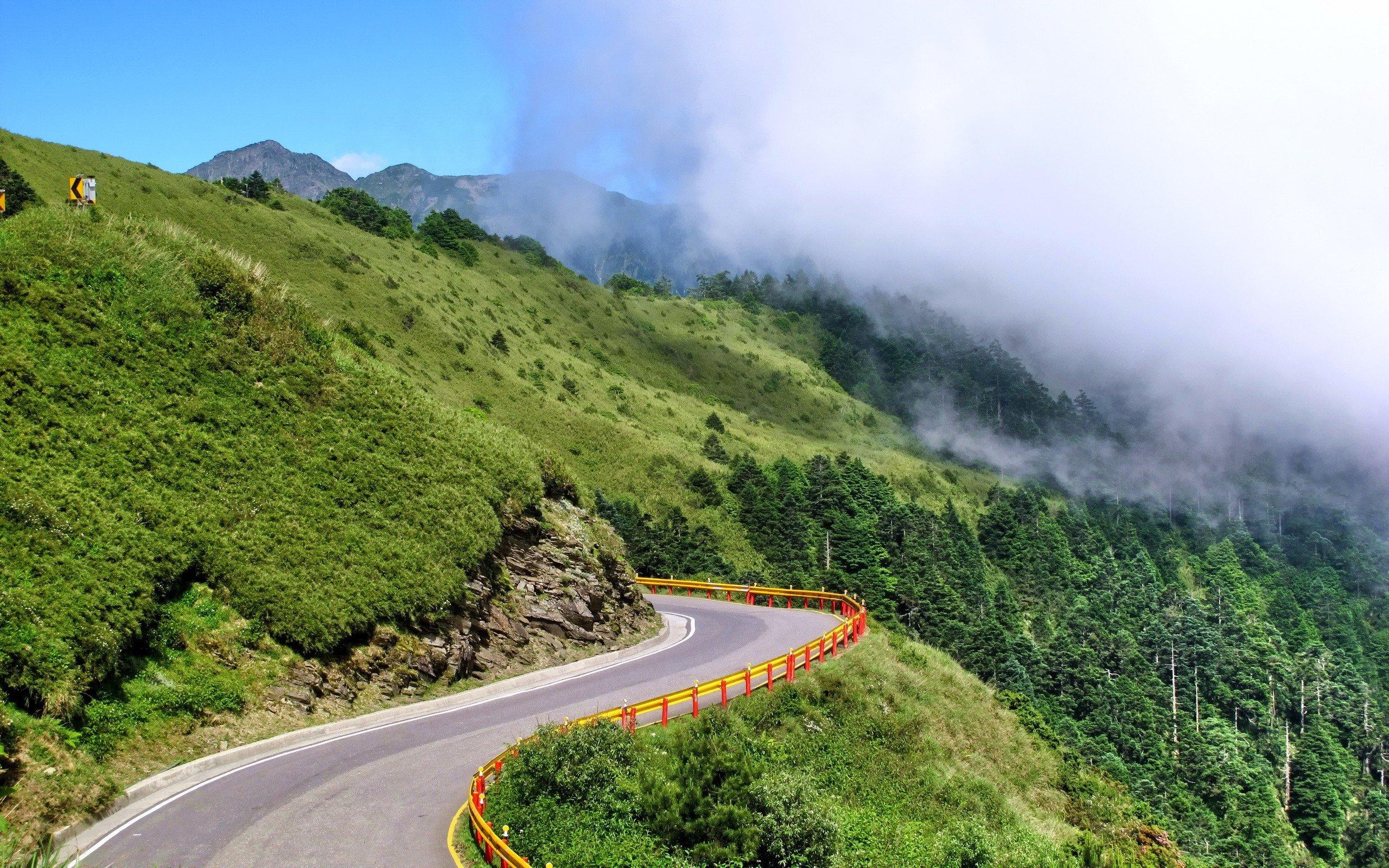 Mountain Nature Landscape Cloud Wallpaper 2560x1600