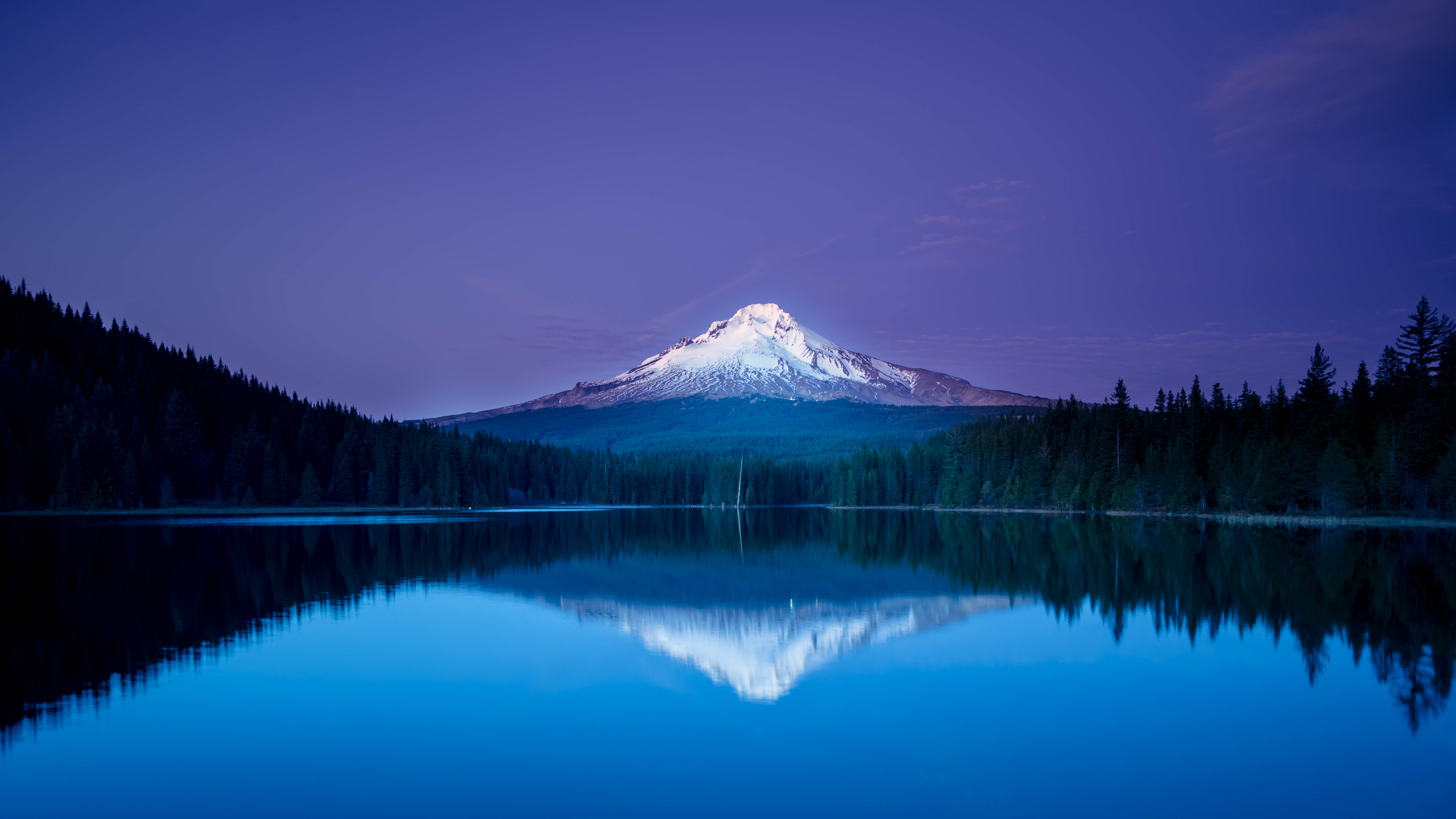 Mountain Reflection 4K Ultra HD Wallpaper
