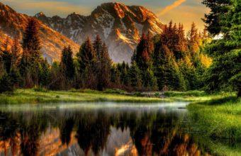 Mountain Wallpaper 2048x1118 340x220
