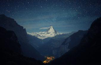 Mountains Landscapes Nature Snow Wallpaper 3840x2400 340x220