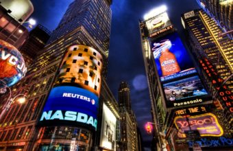 NASDAQ Stock Market New York Wallpaper 1920x1080 340x220