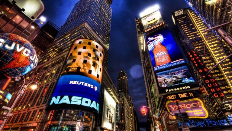 NASDAQ Stock Market New York Wallpaper 1920x1080 768x432