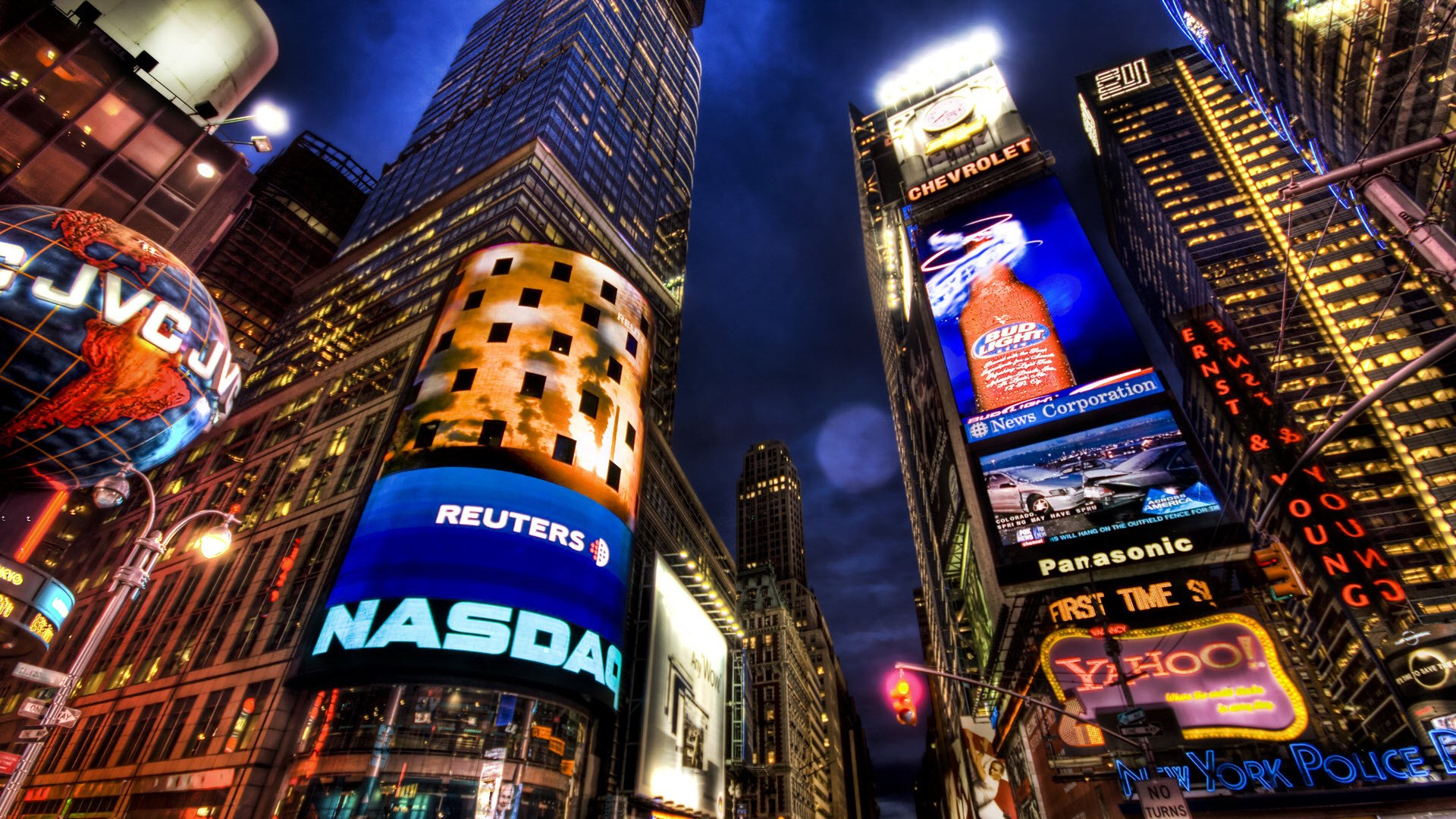 nasdaq stock market new york wallpaper [1920x1080]