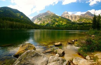 Nature Lake Landscape Wallpaper 1920x1080 340x220