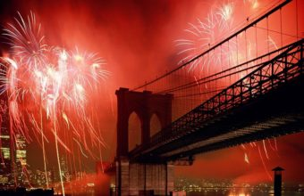New York City Brooklyn Bridge Wallpaper 2560x1600 340x220
