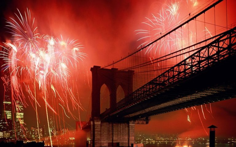 New York City Brooklyn Bridge Wallpaper 2560x1600 768x480