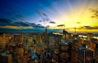 New York City Colors Wallpaper 1920x1200 340x220