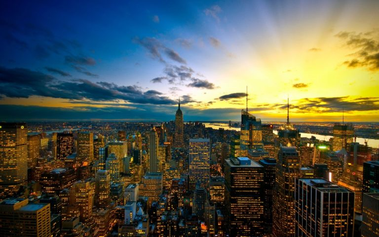 New York City Colors Wallpaper 1920x1200 768x480