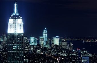 New York City Nights Wallpaper 1920x1200 340x220