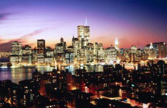 New York Evening Wallpaper 1600x1200 340x220