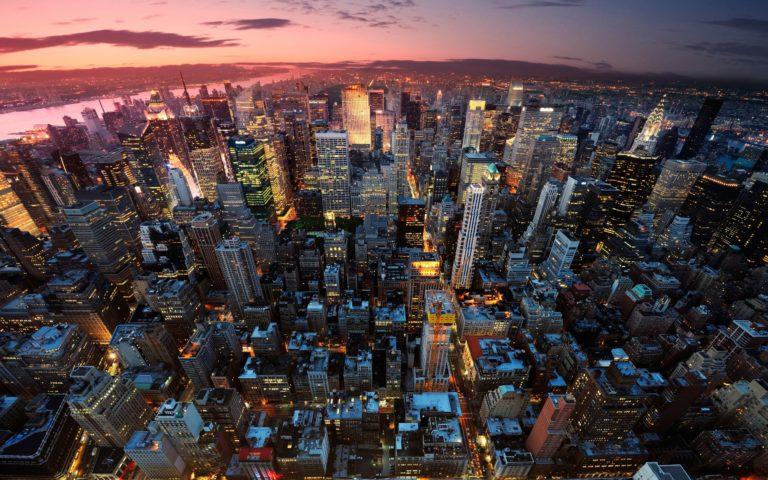New York Manhattan USA City Wallpaper 2560x1600 768x480