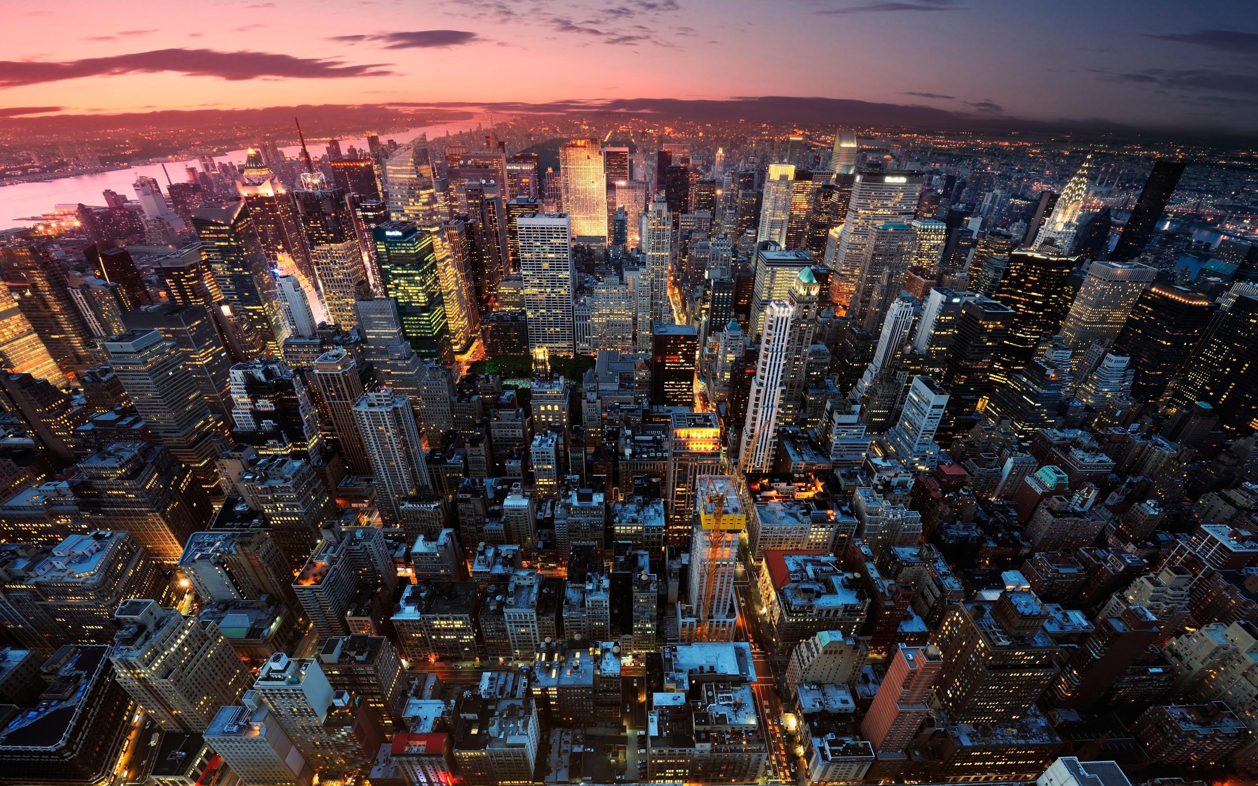 New York Manhattan USA City Wallpaper 2560x1600