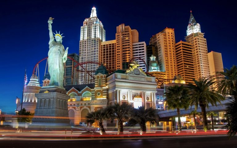 New York New York Hotel Casino Wallpaper 1920x1200 768x480