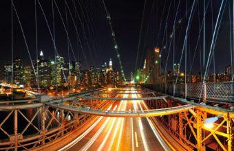 New York Nights Wallpaper 1920x1200 340x220