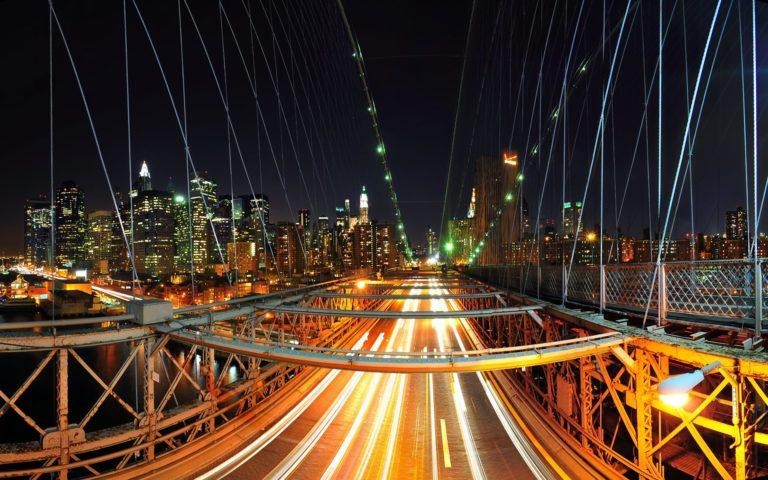 New York Nights Wallpaper 1920x1200 768x480