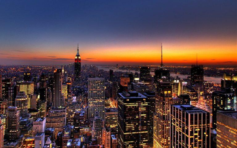 New York Skyline Wallpaper 1680x1050 768x480