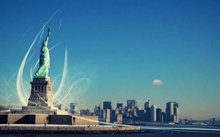 New York Statue Of Liberty Wallpaper 2560x1600 768x480