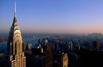 New York View From Top Wallpaper 1600x1200 340x220