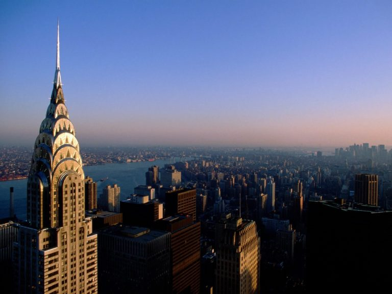 New York View From Top Wallpaper 1600x1200 768x576