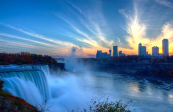 Niagara Falls 4K Ultra HD Wallpaper 3840x2160 340x220