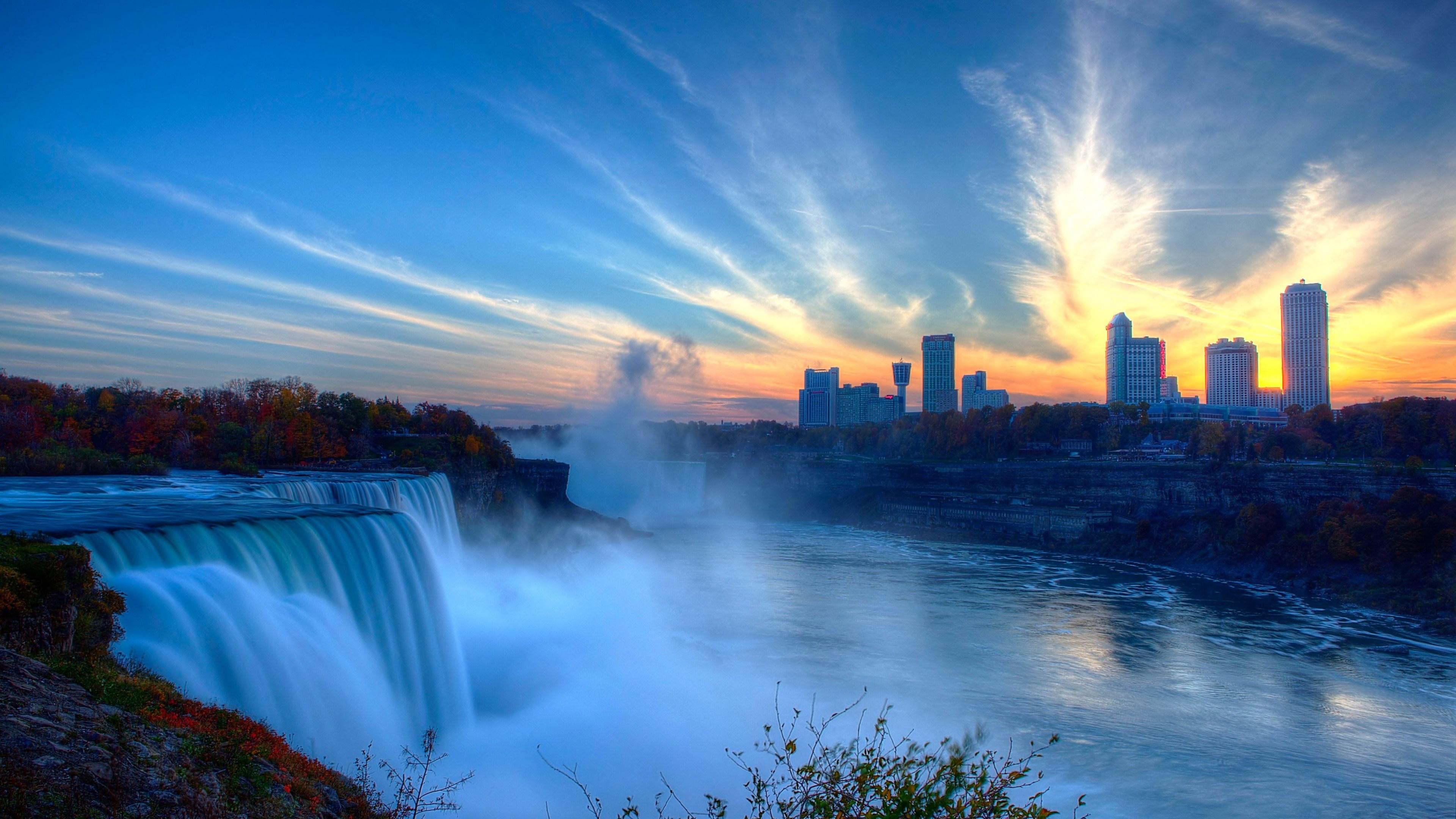 Niagara Falls 4k Ultra Hd Wallpaper 3840x2160 340x220