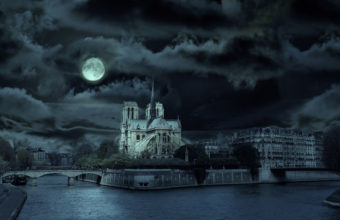 Notre Dame De Paris France World Wallpaper 1920x1080 340x220