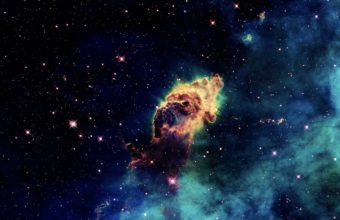 Outer Space Universe Nebula Stars Wallpaper 1920x1080 340x220