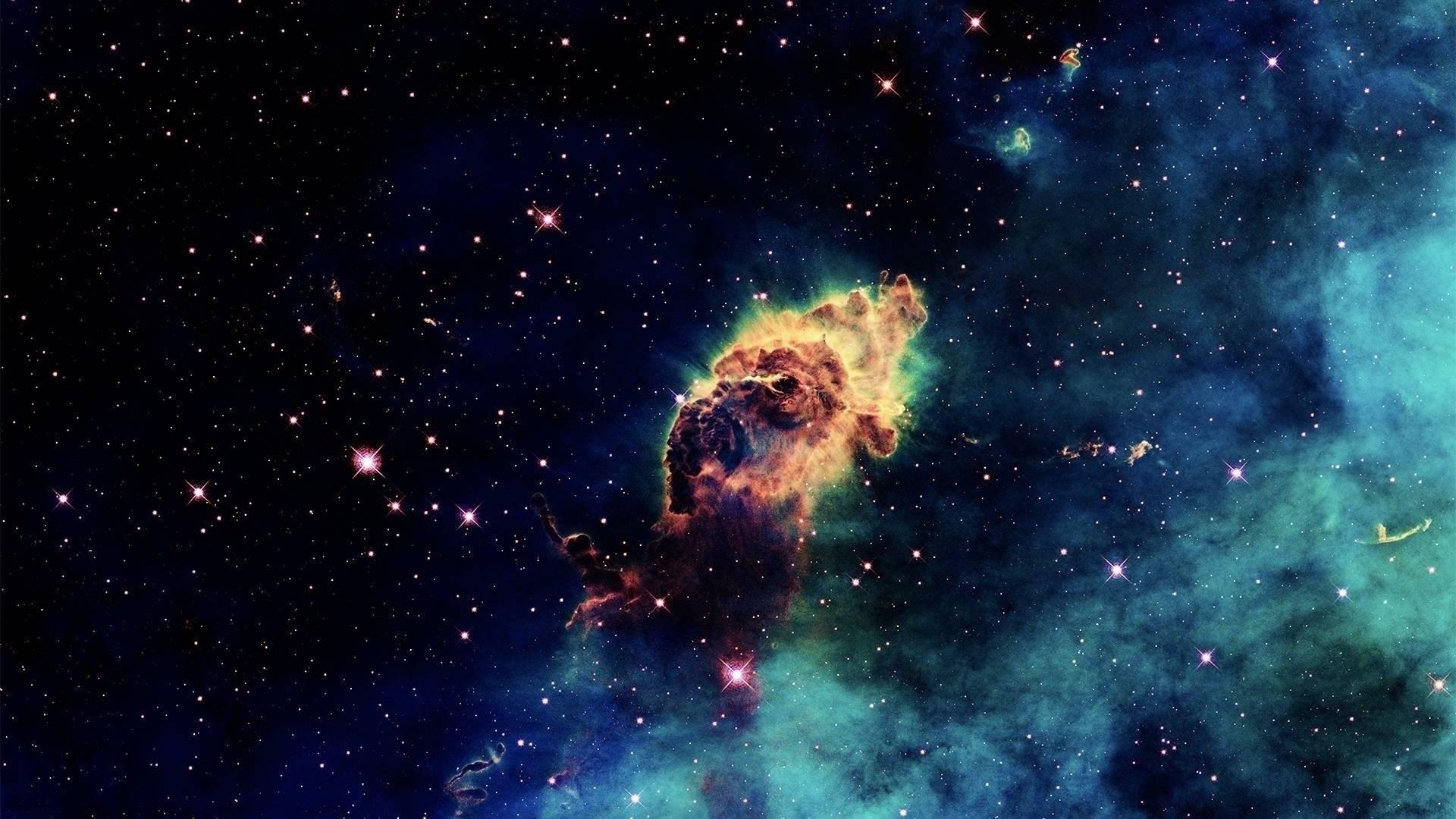 Outer Space Universe Nebula Stars Wallpaper 1920x1080