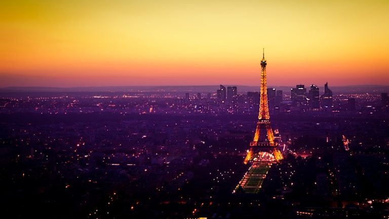 Paris View 4K Ultra HD Wallpaper 3840x2160 768x432