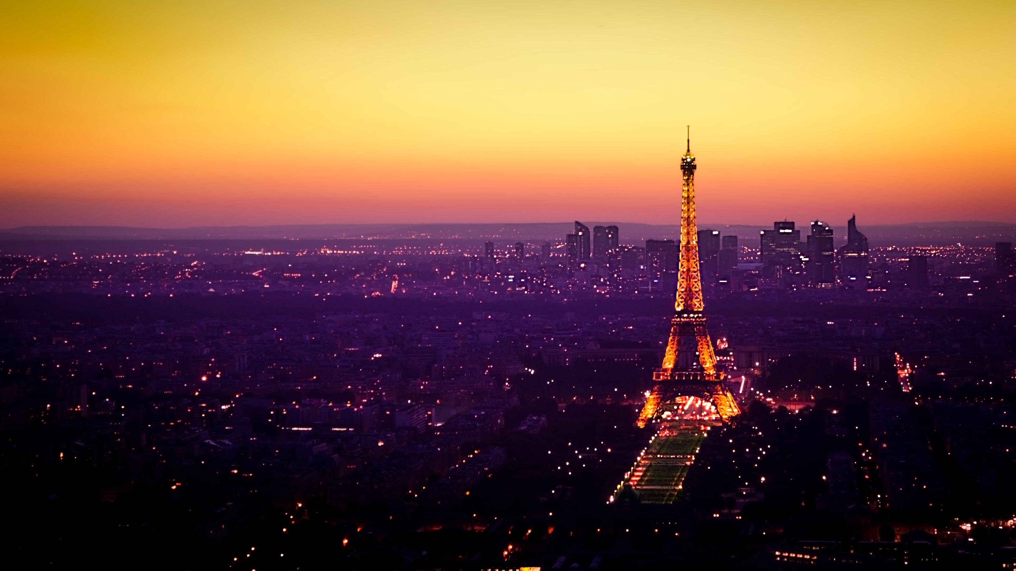 Paris View 4k Ultra Hd Wallpaper 3840x2160