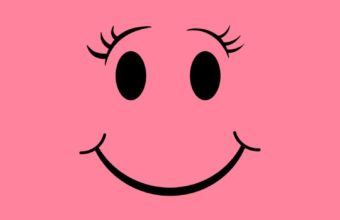 Pink Smile iPhone 7 Wallpaper 750x1334 340x220