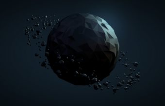 Planet Ball Dark Wallpaper 340x220