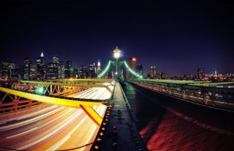 Road To New York City Wallpaper 1920x1200 340x220