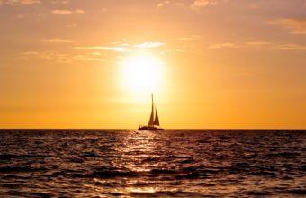 Sailboat 4K Ultra HD Wallpaper 3840x2160 340x220