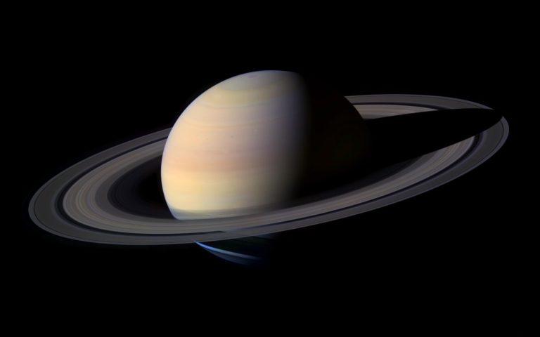 Saturn Ring Planet Wallpaper 2560x1600 768x480