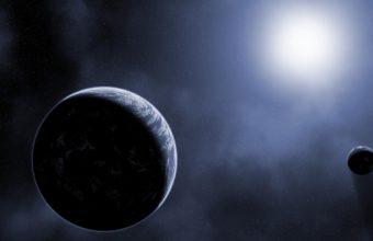 Scientific Planet Galaxy Space Stars 4K Ultra HD Wallpaper 3840x2160 340x220